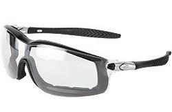 RT110AF Rattler Black Frame Clear Anti-Fog Lens