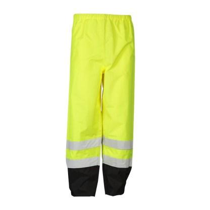 ML Kishigo RWP102 Lime Class E Storm Cover Rainwear Pants