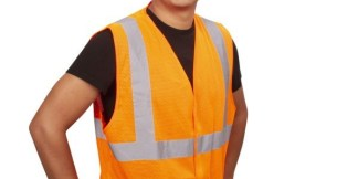 Cordova V210P Orange Class 2 Mesh Safety Vest