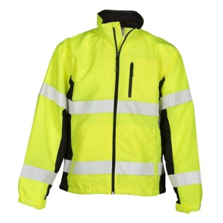 ML Kishigo WB100 Class 3 Yellow/Lime Black Series Windbreaker