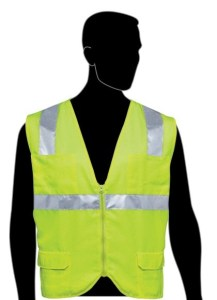C16010G Economy Solid Front Mesh Back Lime Class