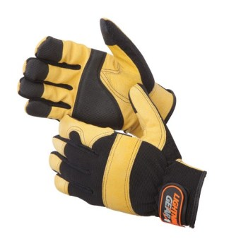 0912 Golden Grain Pigskin Mechanic Glove, Pair
