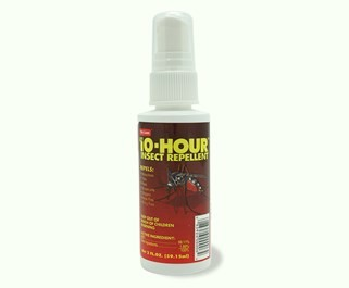 10-Hour Insect Repellent 2 oz pump spray bottle, non-aerosol