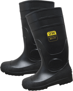 SPT-16 PVC Plain Toe High Boots