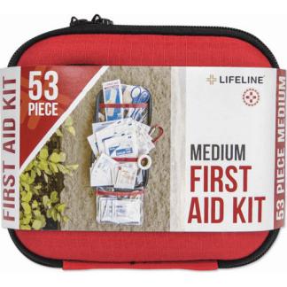 LifeLine Hard-Shell Foam First Aid Kit 53 Piece