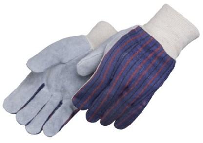 Liberty Gloves 3863 Clute Pattern Regular Leather Palm Gloves, Dozen