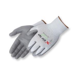 Liberty Gloves A4938 X-GRIP Gray Polyurethane Coated Palm Glove, Dozen