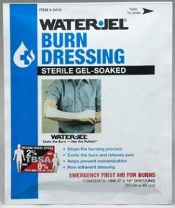 """Water Jel 4"""" x 16"""" Burn Dressing"""