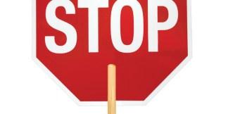ML Kishigo 5951 Non-Reflective Stop Sign