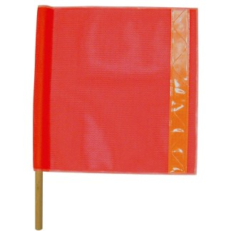 ML Kishigo 5988 Heavy Duty Vinyl Coated Mesh Flag with Orange Prismatic Tape