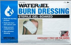 "Water-Jel 8"" X 18"" BURN DRESSING 0818-20"