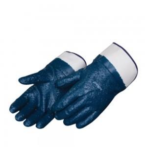 Liberty Gloves 9330 Palm Coated Rough Blue Nitrile Glove, Dozen