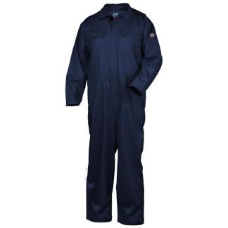Black Stallion CF2215-NV Deluxe 9oz FR Cotton Coverall, Navy