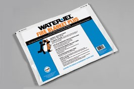 Water-Jel 5' X 6' WATER-JEL FIRE BLANKET-PLUS (POUCH) P7260-04
