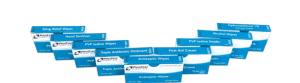 ProStat 2205 Antiseptic Wipes 10 per box