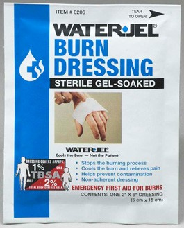 "Water Jel Burn Dressing 2"" x 6"""