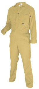 MCR CC1T Max Comfort FR 7oz Tan Contractor Coveralls