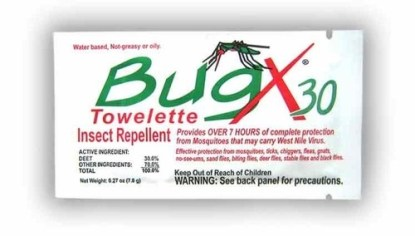 Coretex BugX30 Insect Towelettes 300 ct.