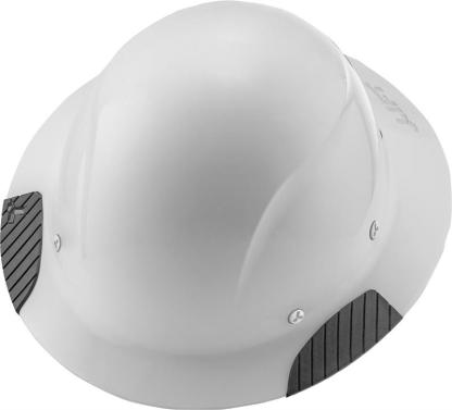 HDF-15WG DAX White Full Brim Hard Hat