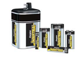 Energizer Industrial Batteries - 9 V Alkaline batteries