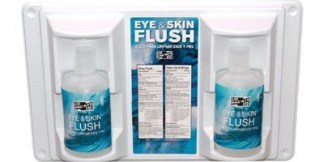 Double 16 oz. Eyewash Station