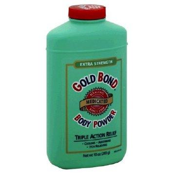 Gold Bond Extra Strength Triple Action Medicated Body Powder 10 oz