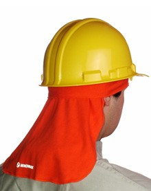 Orange Hard-Hat Liner