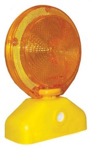 JACKSON SAFETY* Sundowner* LED Barricade Light - Sundowner w/ amber body & lens
