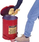 Oily Waste Cans - 6-Gal. oily waste can