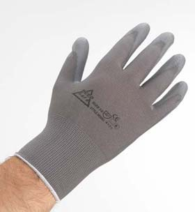 Nylon PU-Coated Gloves