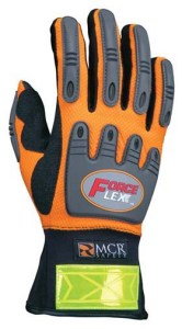 MCR HV100 ForceFlex Hi-Vis Multi-Task Gloves