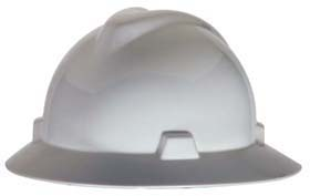 V-Gard Full-Brim Hard Hats - V-Gard full-brim hat