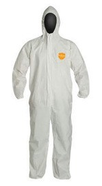 Dupont NG127SWH Coverall with Hood