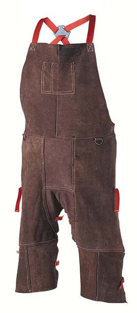 "Raw-Hyde 88154 Split-Leg Leather Apron 24"" X 24"""