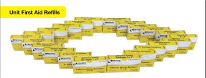 ProStat 2033 Bandage Woven Strips 1in x 3in, 16 per box