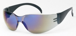 Mirrored Lens Safety Glasses