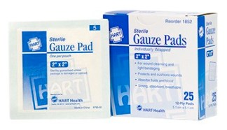 Gauze Pads & First Aid Dressings