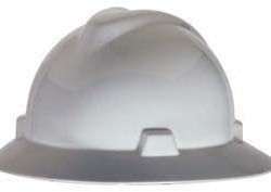 MSA V-Gard Full-Brim Hard Hats