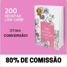 200 receitas low carb