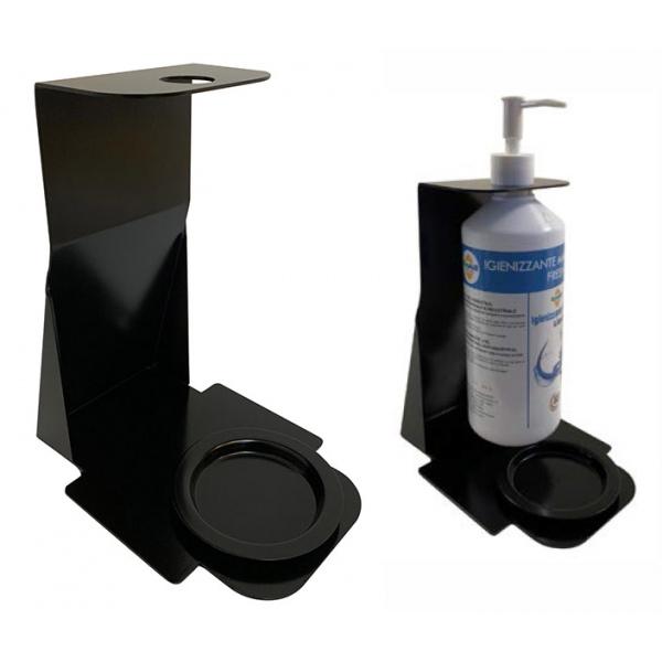 lot de 2 supports de table pour bouteille de gel hydroalcoolique