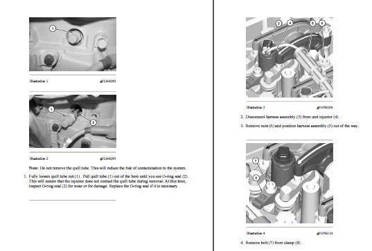 Caterpillar 3116, 3126 8WL/1WM Diesel Engine Service Repair Manual