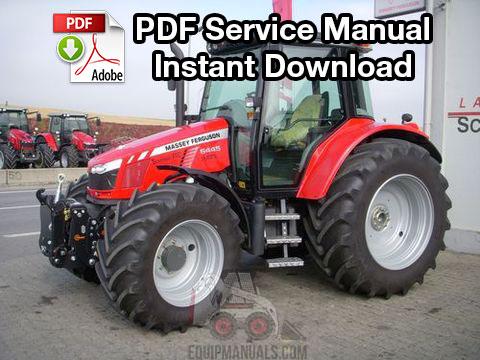 Massey Ferguson 6400 Series Tractor Service Repair Manual