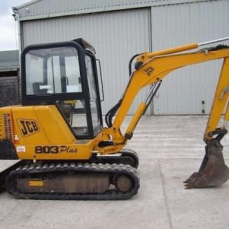 JCB 802.7, 803, 804 Plus & Super Excavator