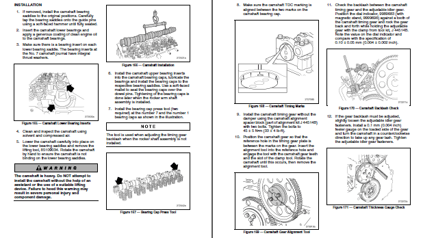 Mack E7 E-Tech Diesel Engine Shop Repair Manual