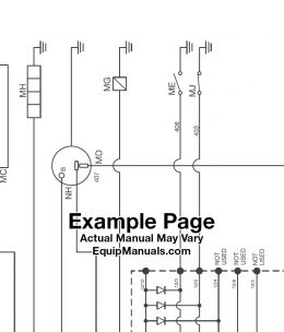 JCB Service Manual Sample Page PDF