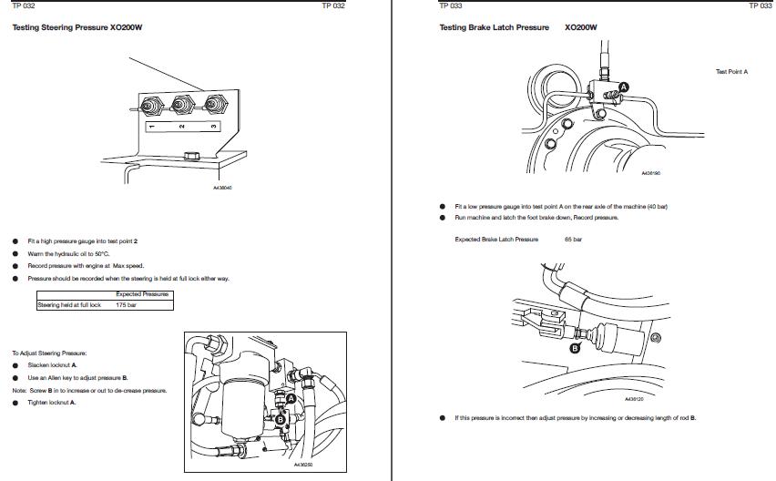 JCB JS Excavator Fault Code Diagnostic Manual