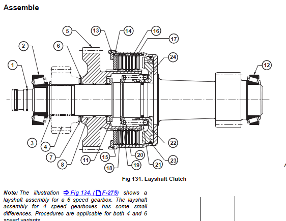 JCB Transmission, Gearbox, Axle Repair Service Manual