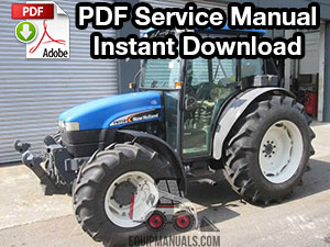 New Holland TND, TNS Series Tractor Service Manual