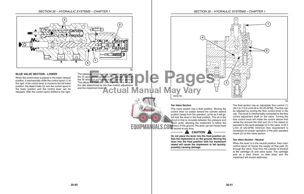Sample Tractor Service Shop Repair Manual PDF Pages