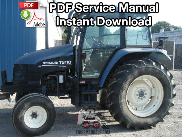 New Holland Tractor Manuals : New holland ts tractor service manual